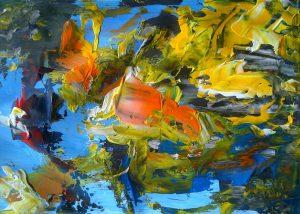 artwork, series, eht ni nr.1 abstract painting