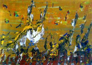 artwork, series, mutnemele nr.1 abstract painting