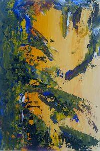 artwork, series, mutnemele nr.2 abstract painting