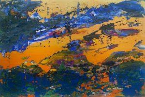 artwork, series, mutnemele nr.3 abstract painting