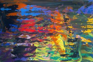 artwork, series, noixelfer nr.2 abstract painting