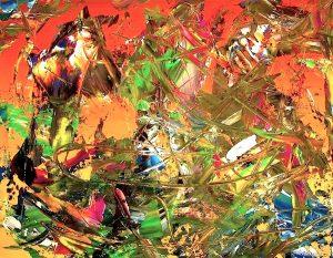 artwork, series, susrev inu nr.1 abstract painting