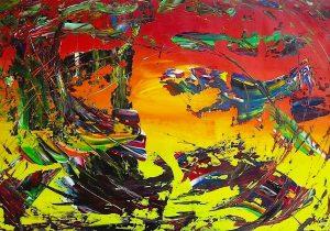artwork, series, susrev inu nr.3 abstract painting