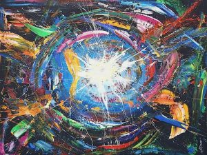 artwork, series, ytilibissop nr.1 abstract painting